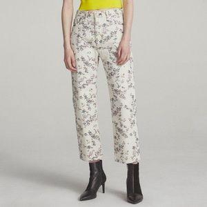 NWT Rag & Bone Micro Floral Boy Jeans
